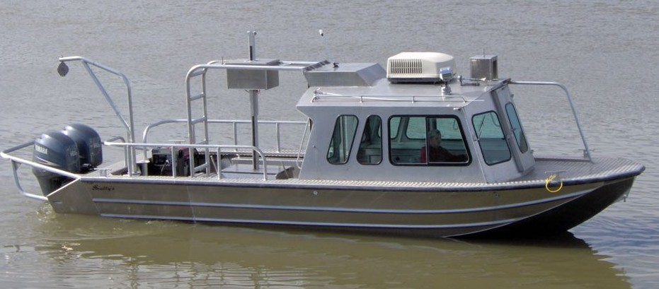 26 Survey Boats Scully S Aluminum Boats Inc