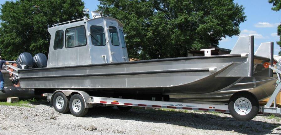 Flat Bottom Aluminum Boats for sale -