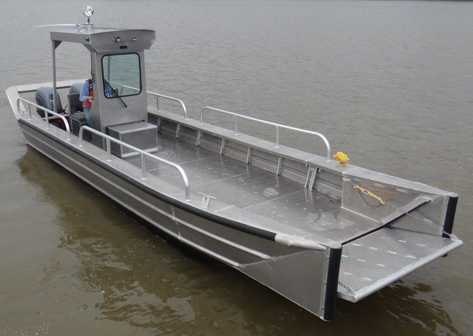 Aluminum boats landing craft for Aluminum craft boats for sale