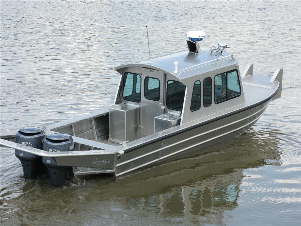 26 Work Boats Scully S Aluminum Boats Inc