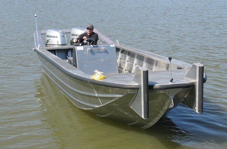 24′ Work Boats | Scully's Aluminum Boats, Inc.